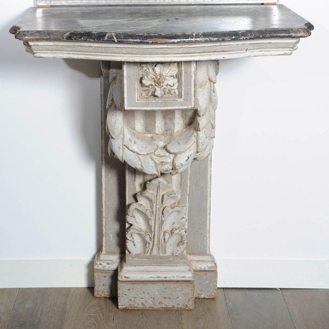 18e eeuwse console tafel