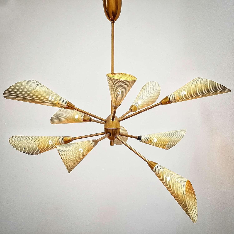 Vintage zestiger jaren hanglamp