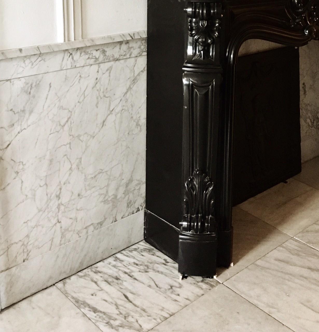 Antieke marmeren vloeren