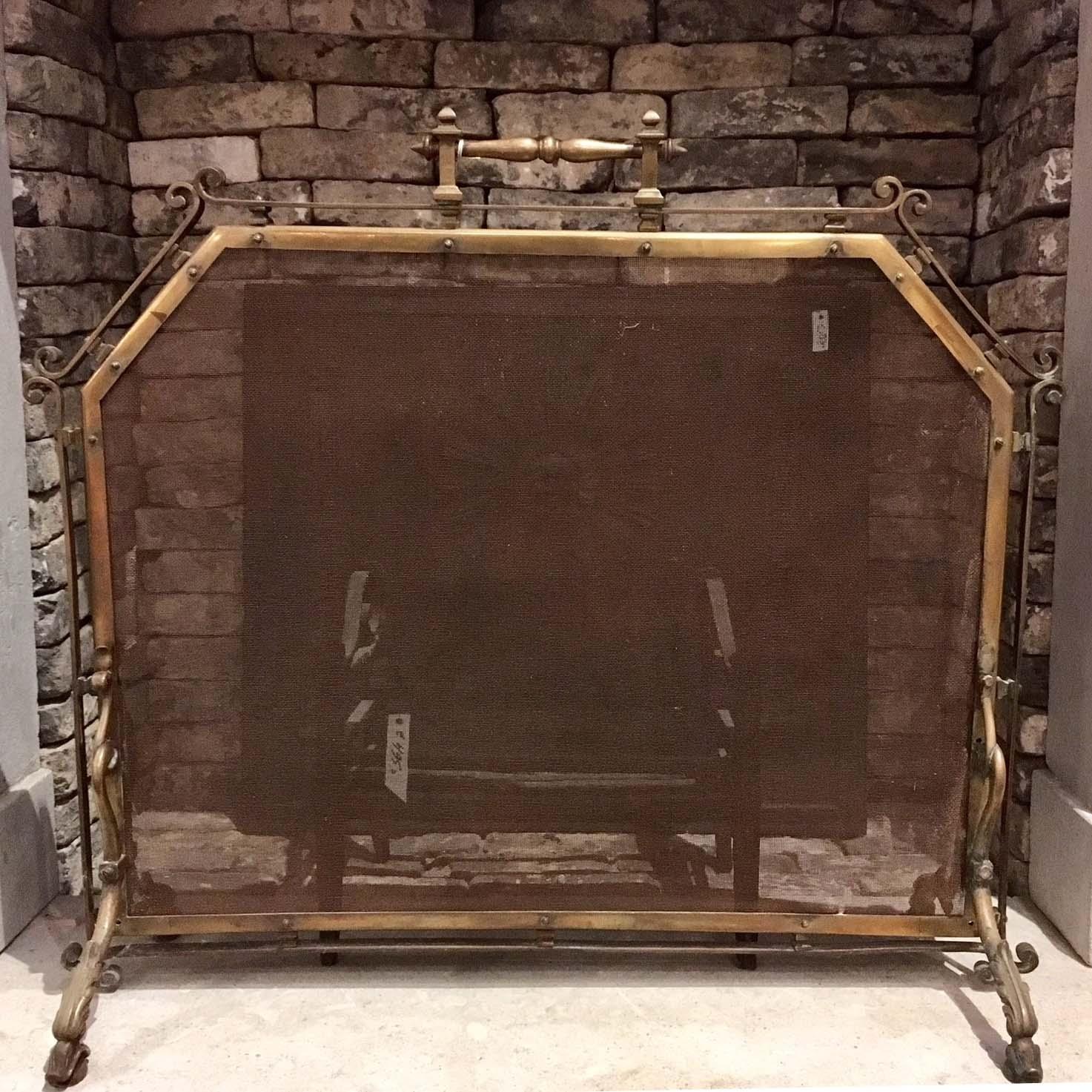 Antiek haardscherm