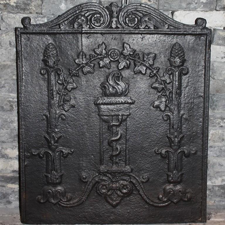Antieke haardplaat
