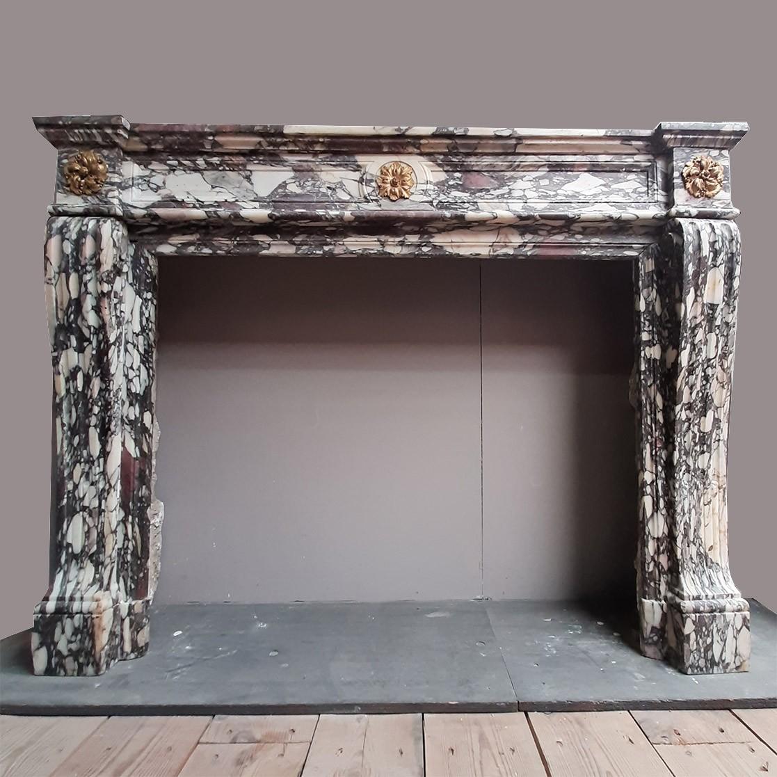 Antieke Lodewijk XVI schouw