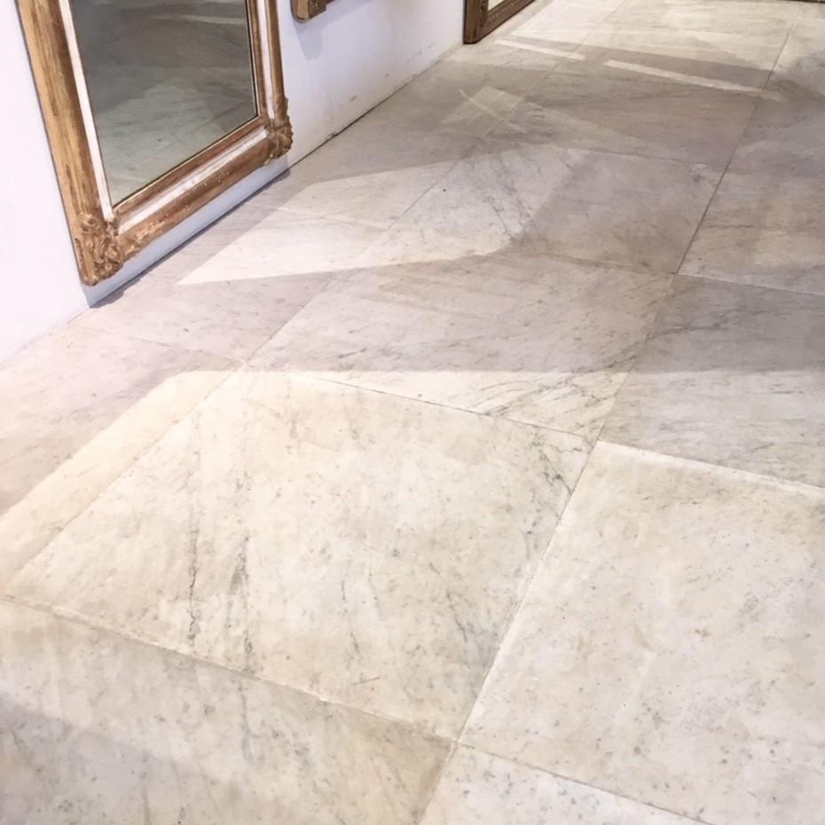 Antieke marmeren vloertegels
