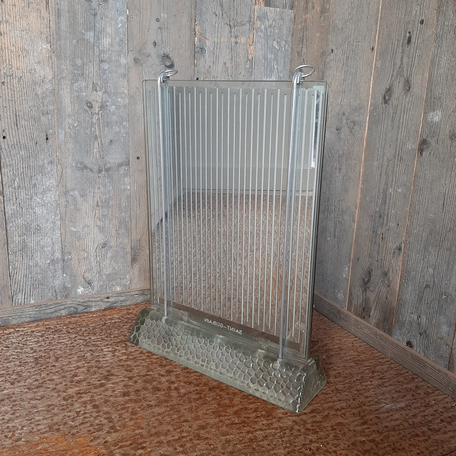 Art Deco radiator, Rene Coulon voor Saint Gobain