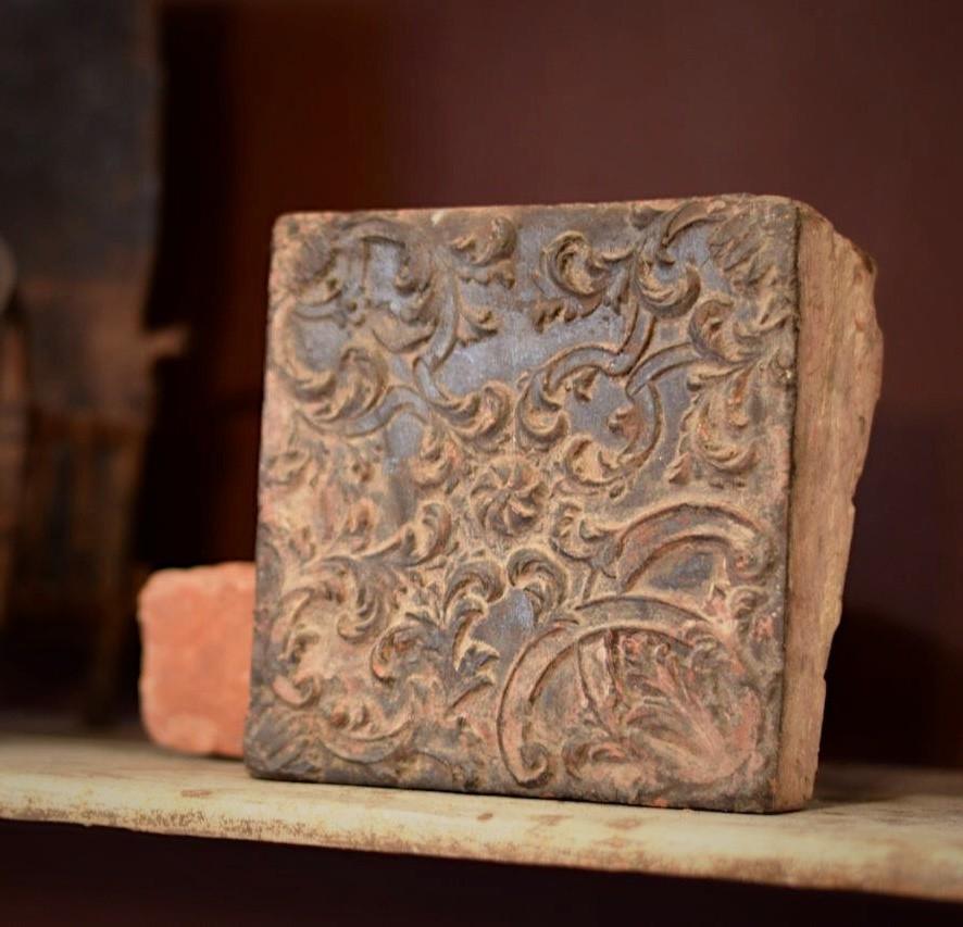 """Antieke haardstenen """"chamotte stenen"""""""