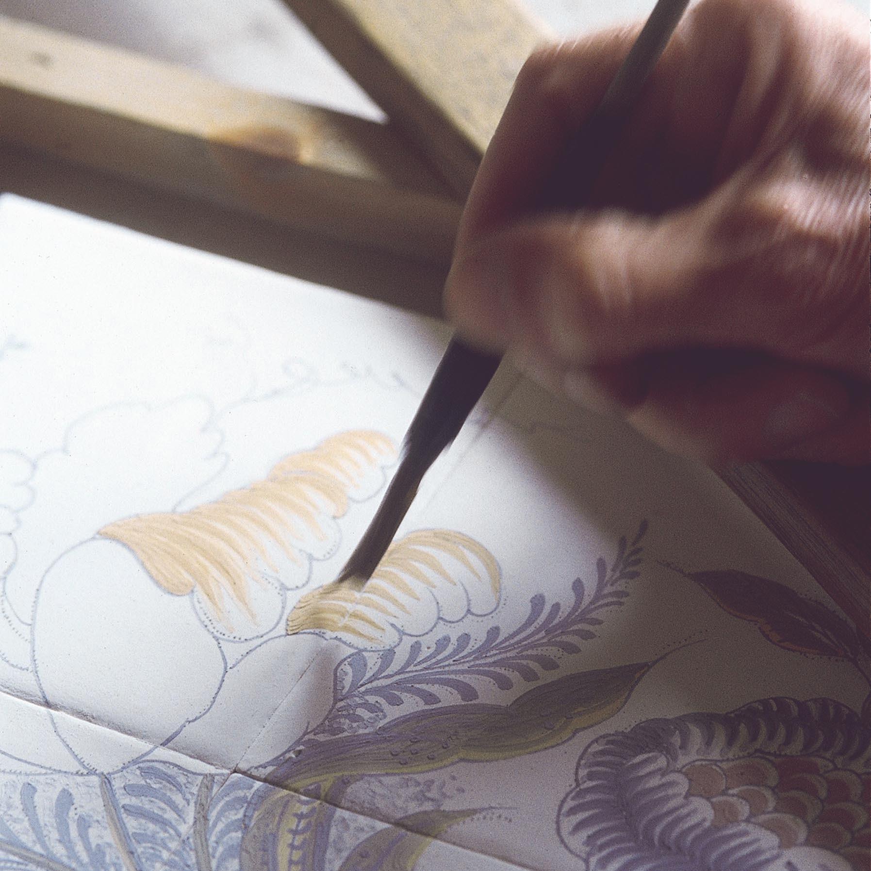 Handbeschilderde wandtegels en tableaus