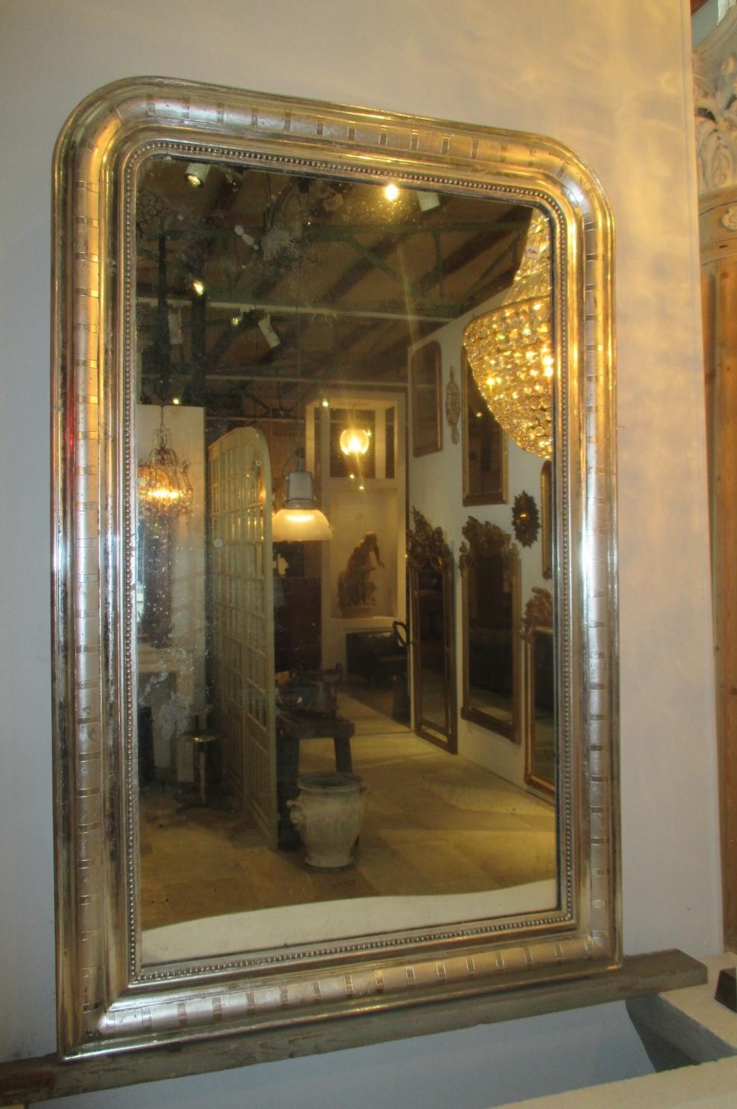Verzilverde spiegel