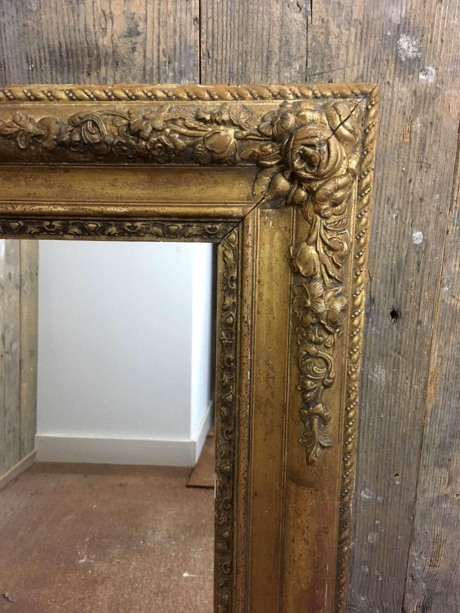 Franse antieke spiegel