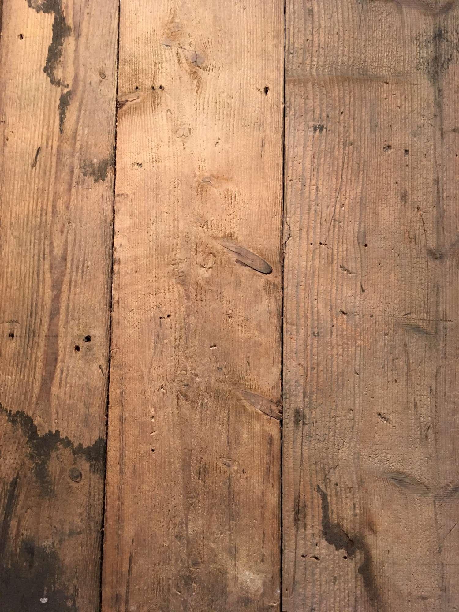 Grote partij oude grenen vloerdelen