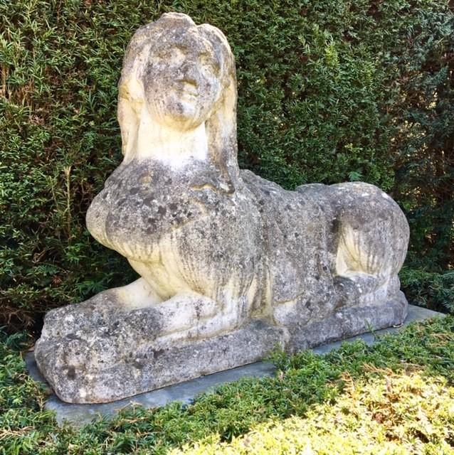 Stel oude Sfinxen