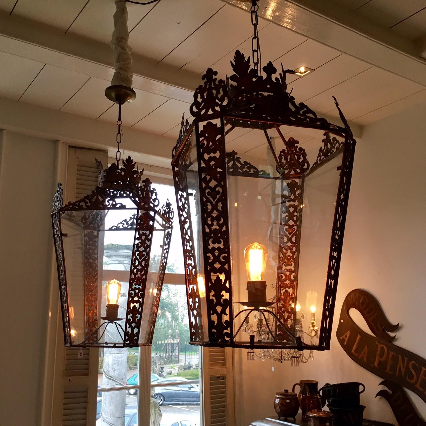 Decoratieve grote lantaarn
