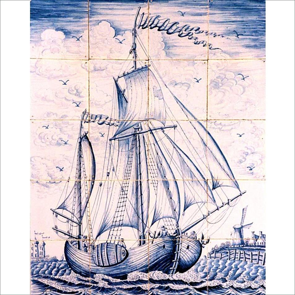 Marine tegeltableaus