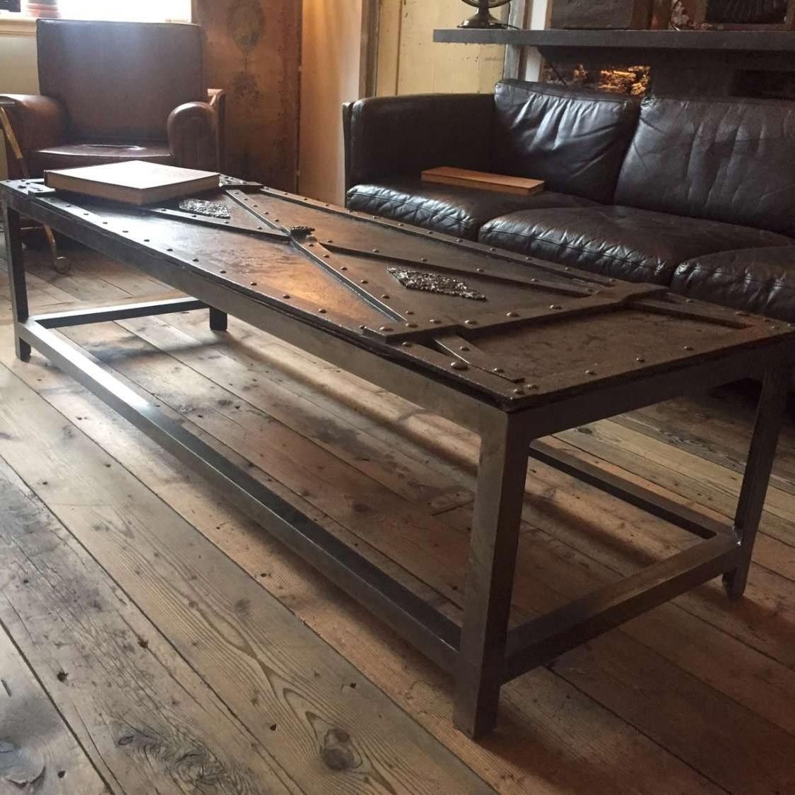 Gesmeden salontafel