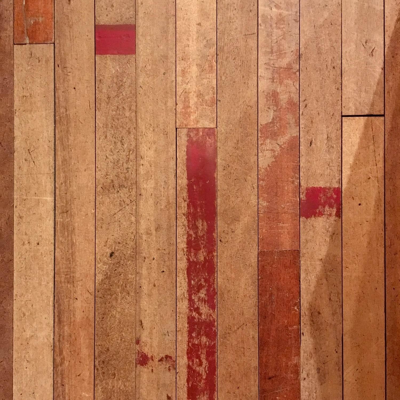 Oude gymzaalvloer (gereserveerd)