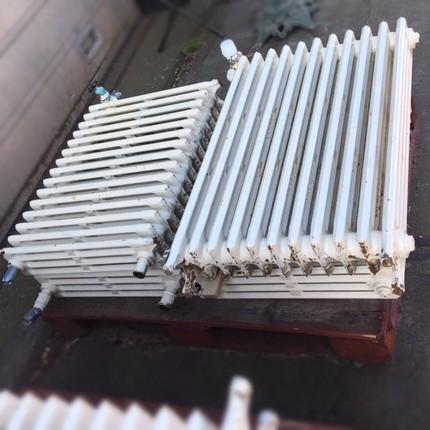 Diverse oude radiatoren