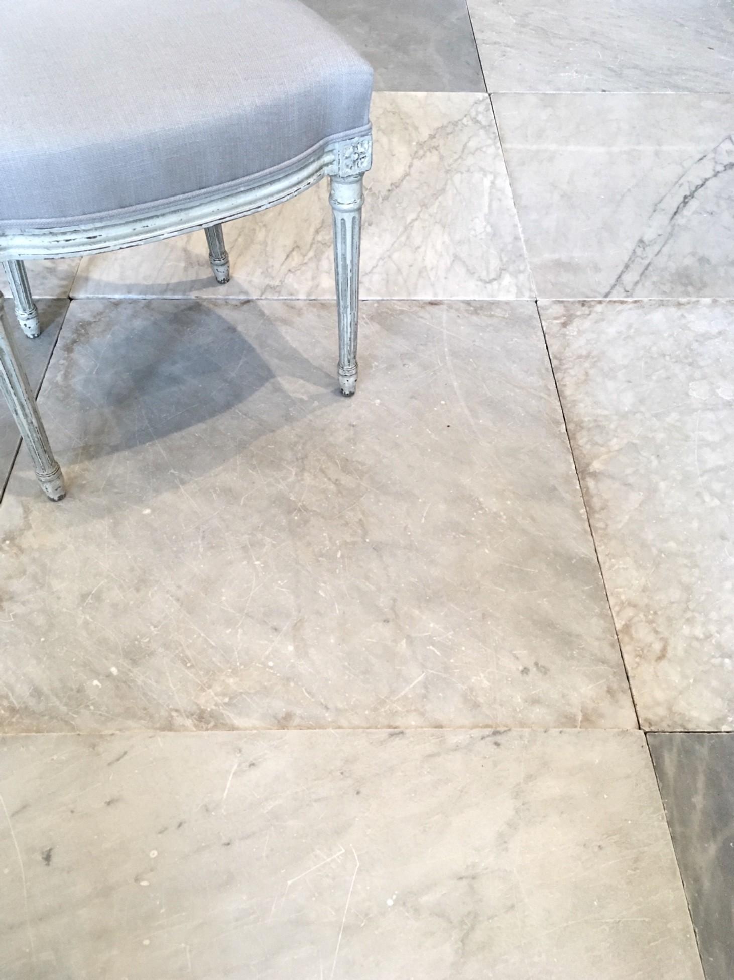 Antieke Carrara marmeren vloertegels