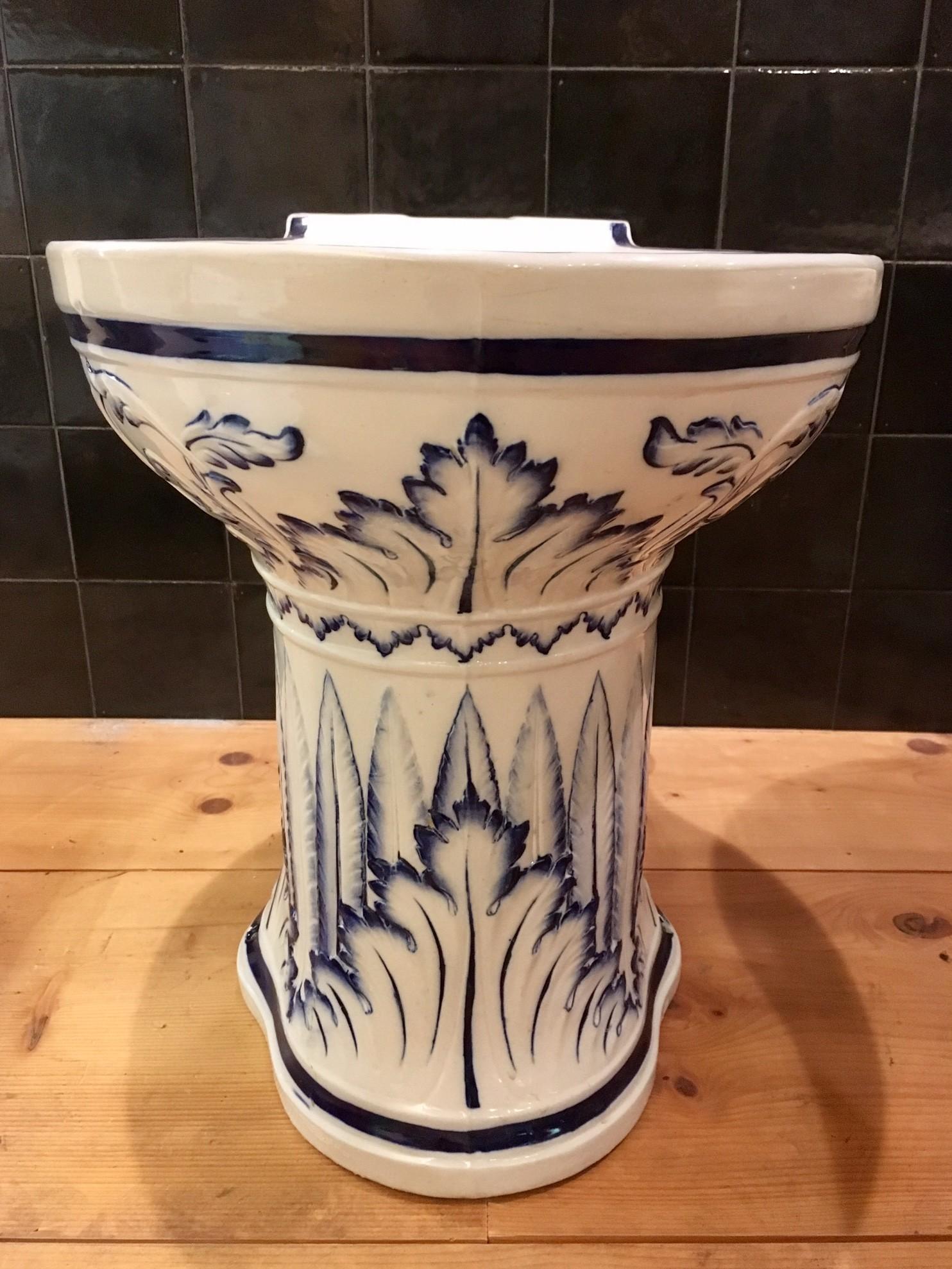 Antieke toiletpot