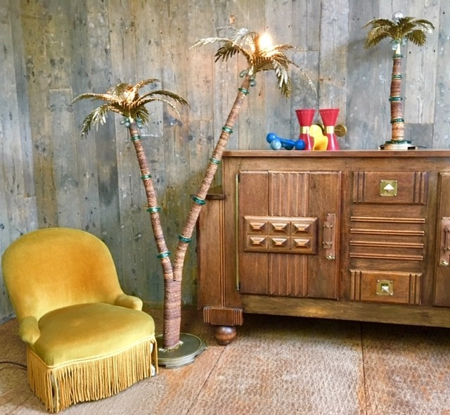 Maison Valentino palm lamp (verkocht)