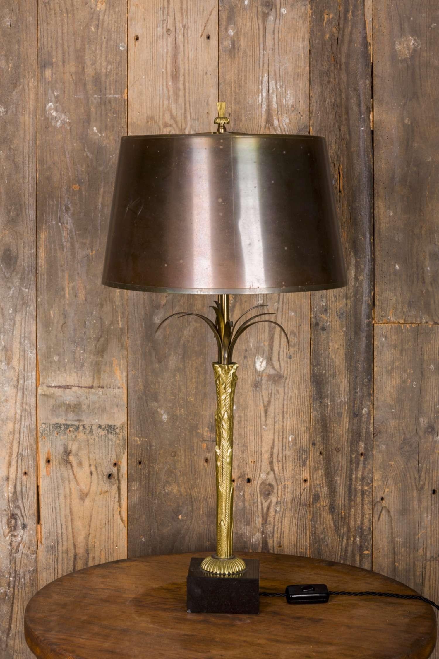 Maison Charles bronzen schemerlamp