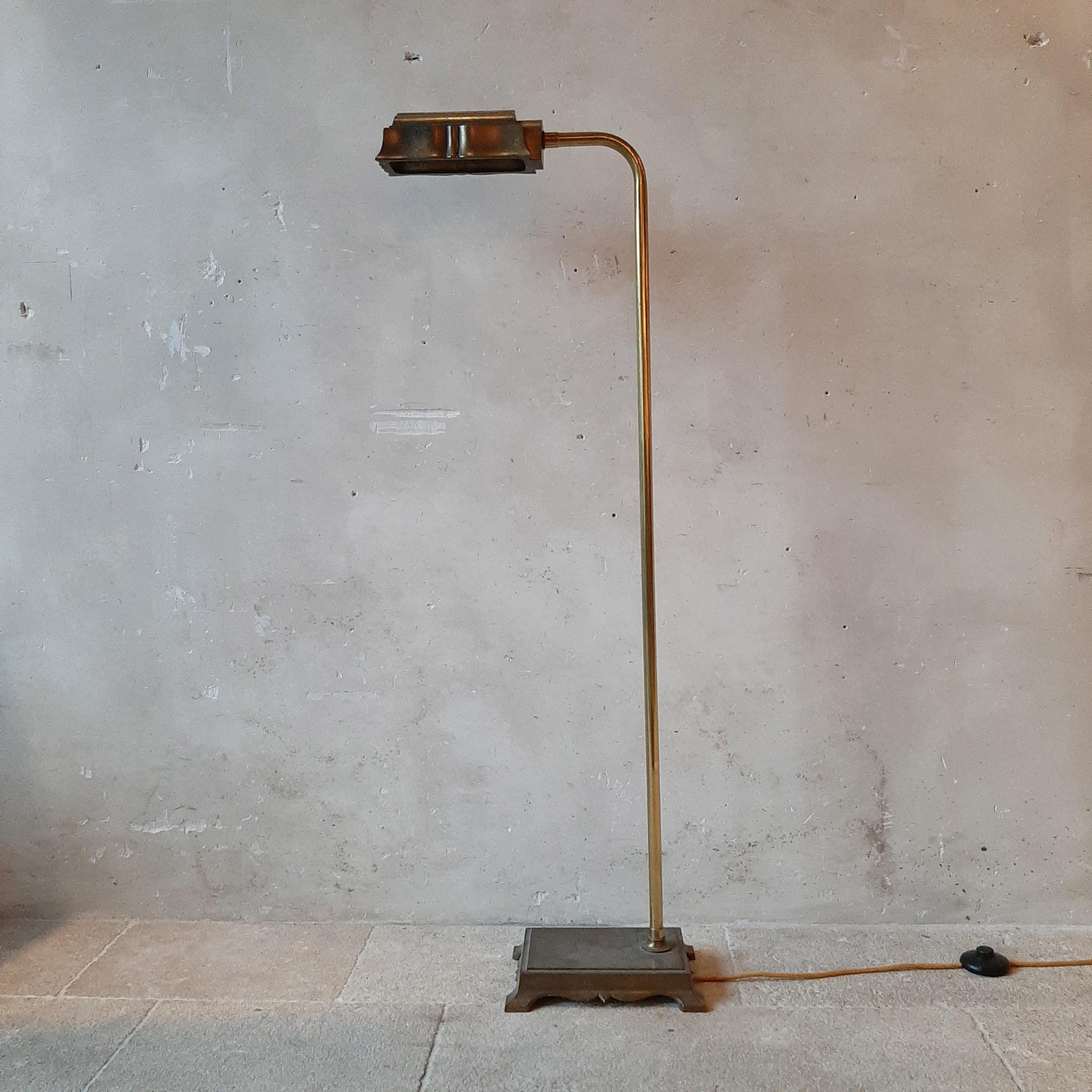 Engels jaren '70 leeslampje