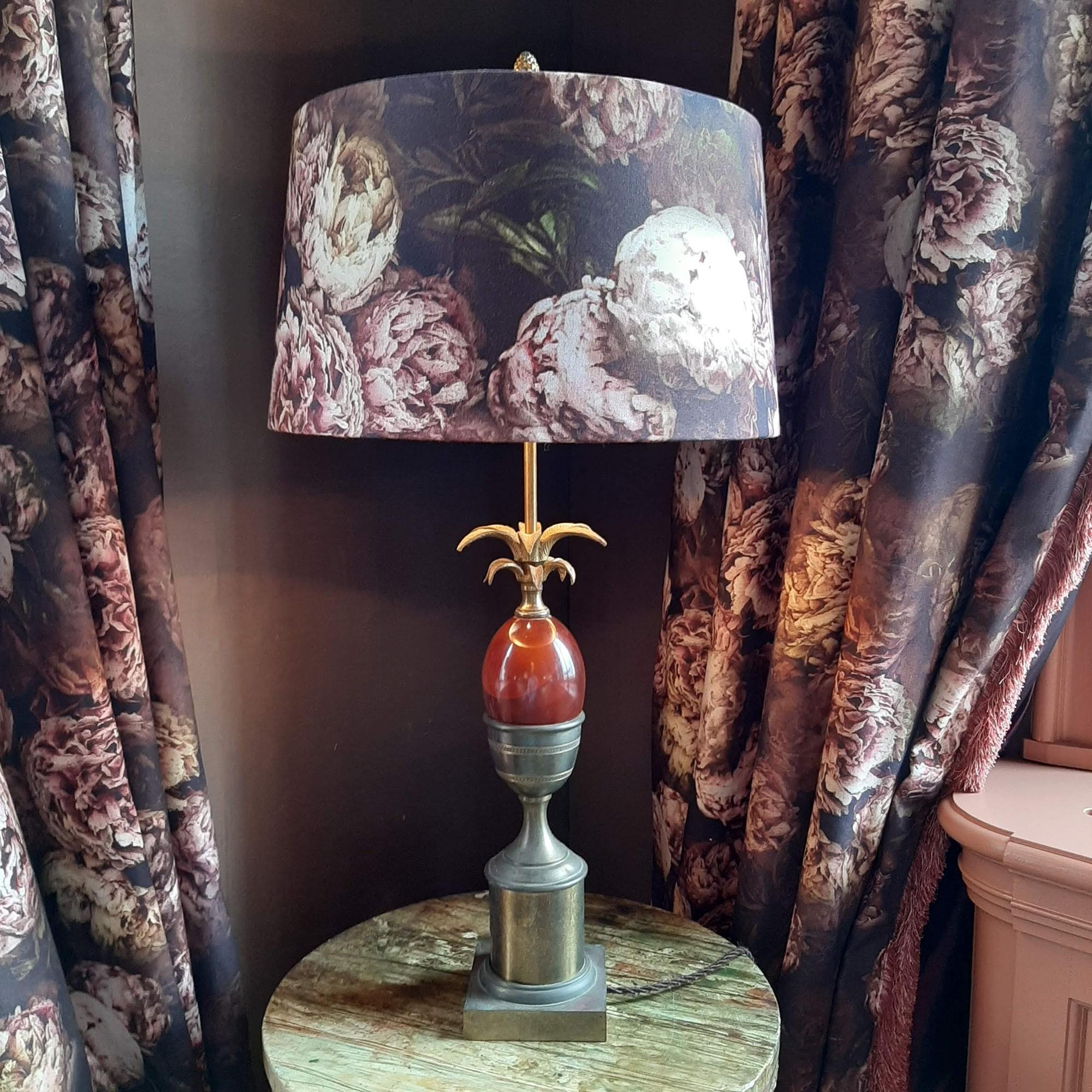 Maison Charles palm tafellamp '60
