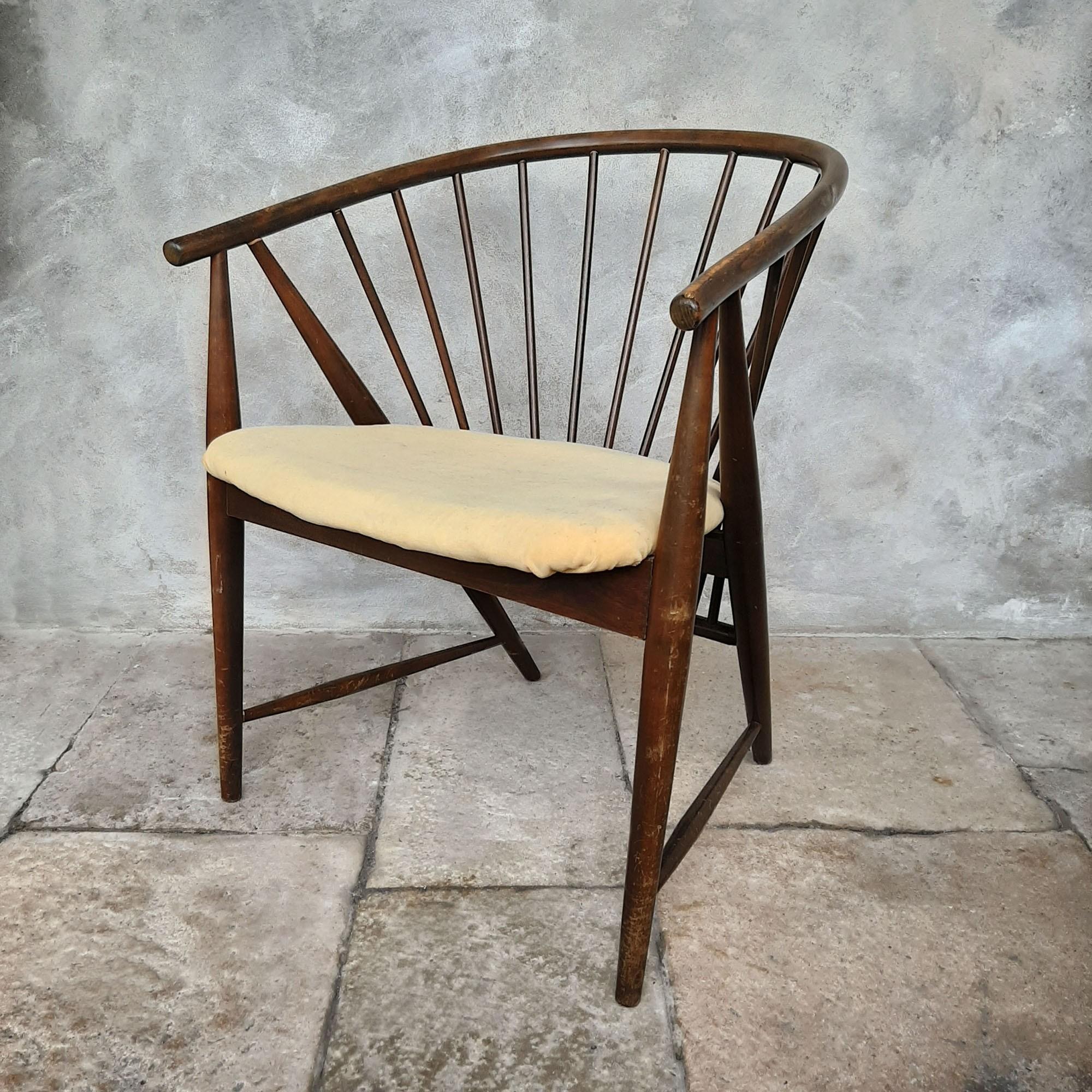 Sun Feather Chair Sonna Rosen '50